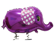 Animal Walker Purple Elephant