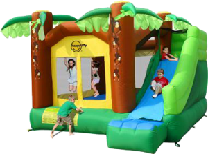 Jungle Climb & Slide Jumping Castle (BC008)