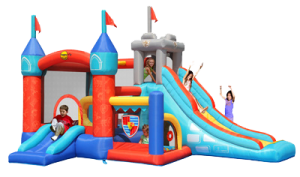 Knights Temple Jumping Castle (BC014)
