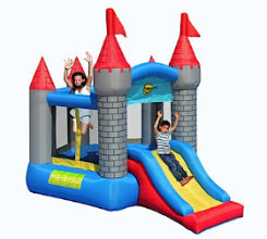 BC020 Knight Castle with Slide Bouncer
