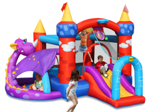 Penelope Dragon Jumping Castle (BC009)