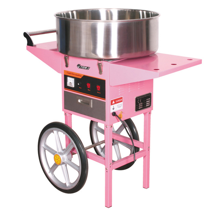 Commercial CandyFloss Machine with Cart