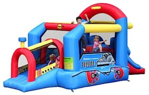 Choo Choo Train Jumping Castle